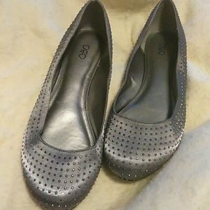 Silver /gray Shoes